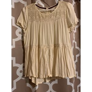 Target Xhilaration Top ivory Medium